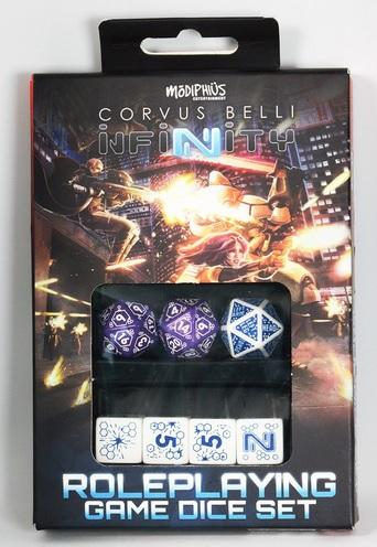 Infinity RPG Dice Set - Combined Army Box (7)