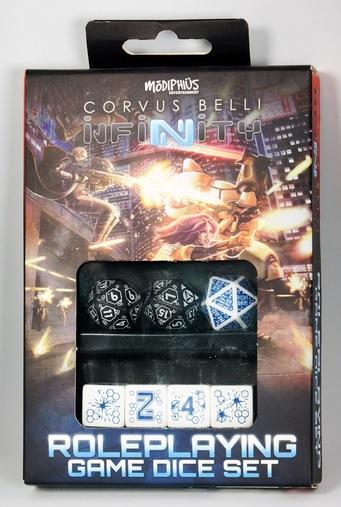 Infinity RPG Dice Set - Tohaa Box (7)
