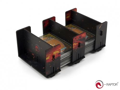 Board Game Accessories: 2L FullPrint Lava HDF Card Holder