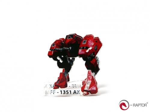 Dice Tower: MFF Mech - Red
