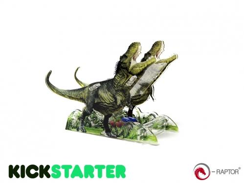 Dice Towers: Small Dice Tower - Tyrannosaurus Rex