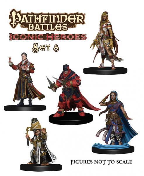 Pathfinder Battles: Iconic Heroes Box Set 8