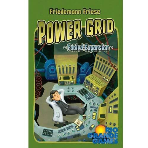 Power Grid Fabled Expansion Cards