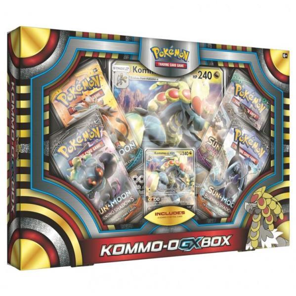 Pokemon CCG: Kommo-o-GX Box