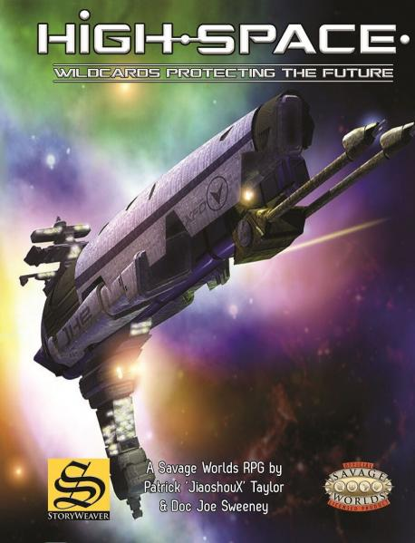 Savage Worlds RPG: High-Space Core Setting Book (HC)
