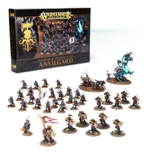 Age of Sigmar: Warriors of the Great Cities: Anvilgard