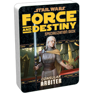 Force and Destiny RPG: Arbiter Specialization Deck