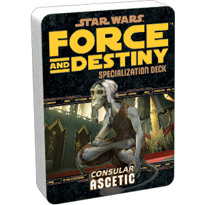Force and Destiny RPG: Ascetic Specialization Deck