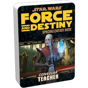 Force and Destiny RPG: Teacher Specialization Deck
