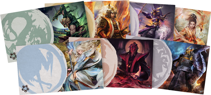 Legend of the Five Rings LCG: Mistress of the Five Winds Playmat