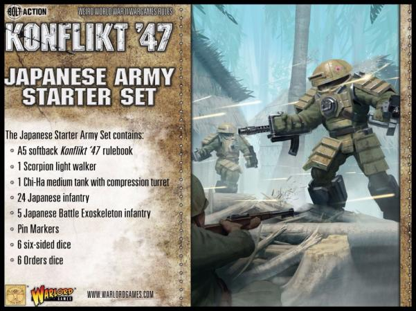 Bolt Action (Konflikt '47) Japanese Starter Set