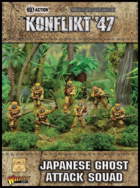 Bolt Action (Konflikt '47) Japanese Ghost Attack Squad