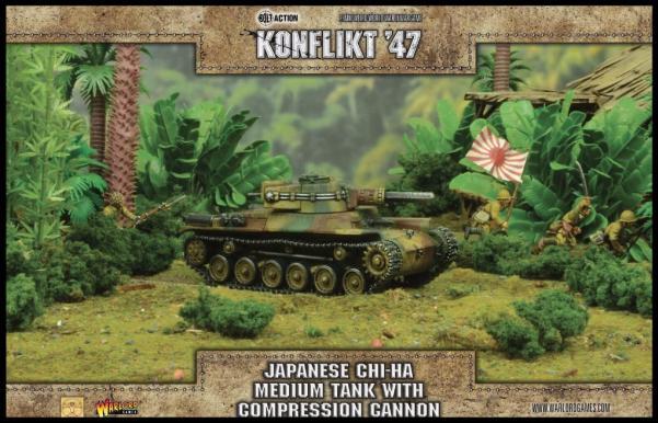 Bolt Action (Konflikt '47) Chi-Ha Tank with Compression Turret