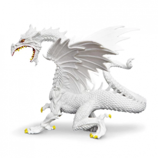 Dragons: Glow-in-the-Dark Snow Dragon