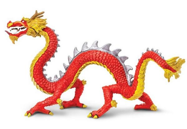 Dragons: Horned Chinese Dragon