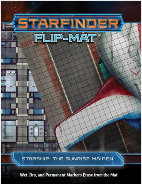 Starfinder RPG: Starfinder Flip-Mat - The Sunrise Maiden Starship