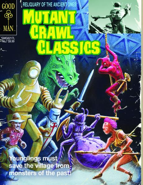 Mutant Crawl Classics RPG: Adventure #7 - Reliquary of the Ancients - Gold Key Cover (Limited)
