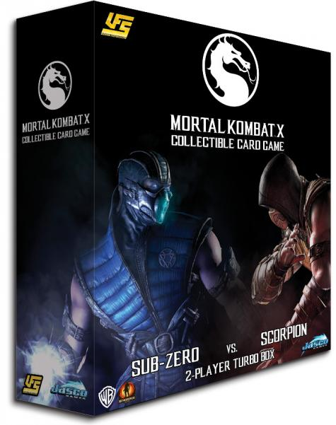 UFS CCG: Mortal Kombat X CCG 2-player Starter Game