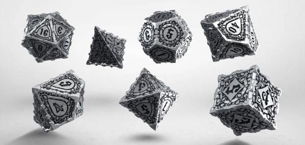 Pathfinder: Metal Pathfinder Dice Set (7)