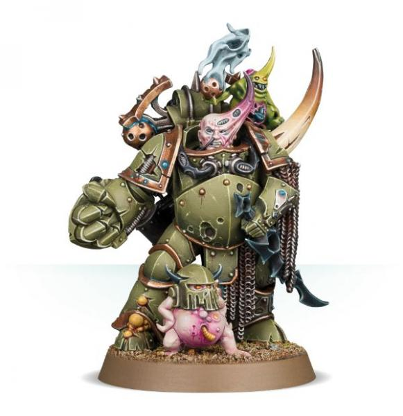 WH40K: Death Guard Plague Marine Champion