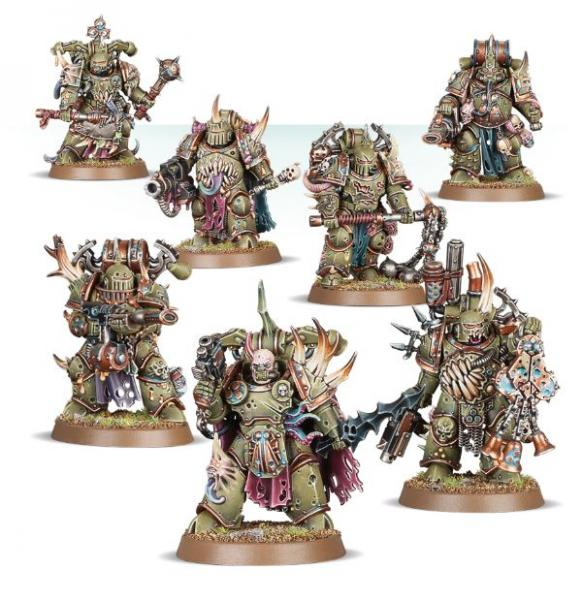 WH40K: Death Guard Plague Marines