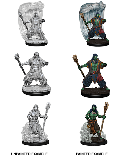 D&D Nolzurs Marvelous Unpainted Minis: Water Genasi Male Druid