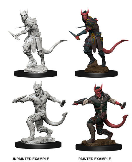 D&D Nolzurs Marvelous Unpainted Minis: Tiefling Male Rogue