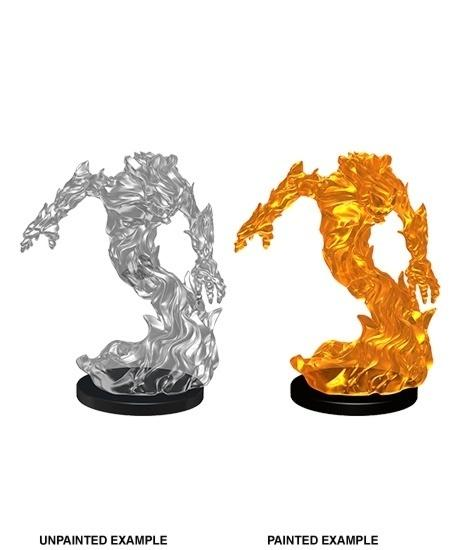 Pathfinder Deep Cuts Unpainted Miniatures: Medium Fire Elemental