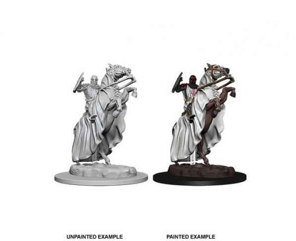 Pathfinder Deep Cuts Unpainted Miniatures: Knight on Horse