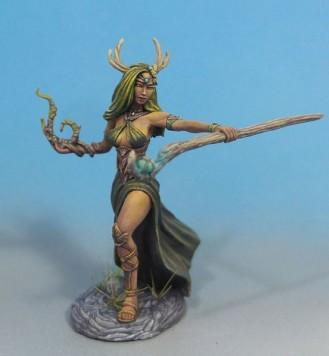 Visions In Fantasy: Female Druid with Staff