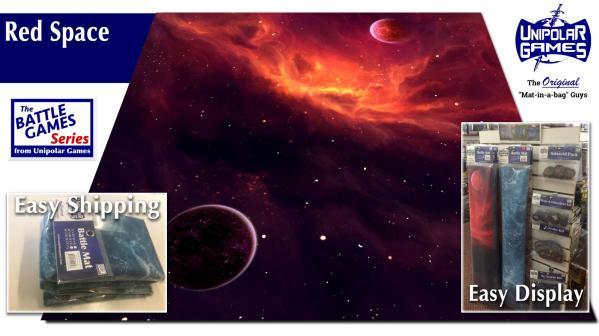 Game Play Mats: Red Space 6'x4'