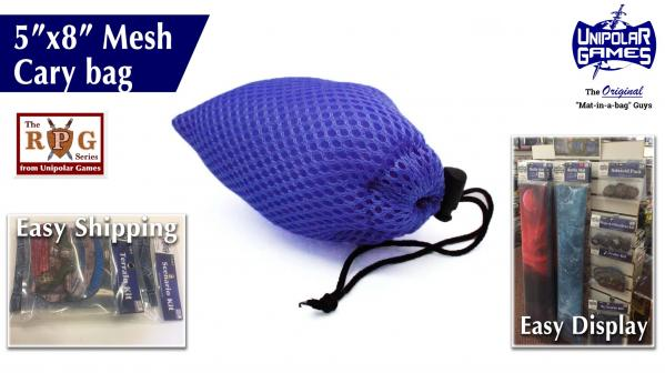 Gaming Accessories: 5''x8'' Mesh Carry/Laundry Bag