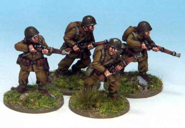 Crusader Miniatures: Polish Riflemen (4)