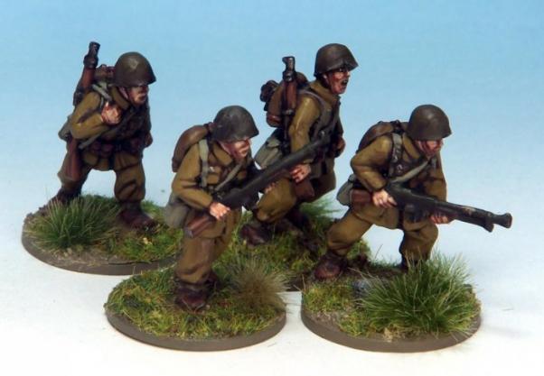 Crusader Miniatures: Polish LMG Teams (4)
