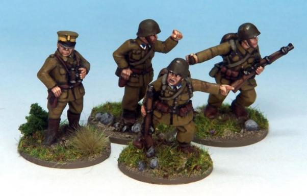 Crusader Miniatures: Polish Command (4)