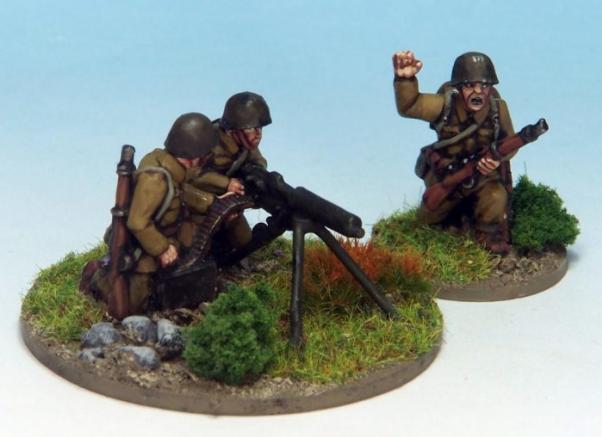 Crusader Miniatures: Polish HMG Team