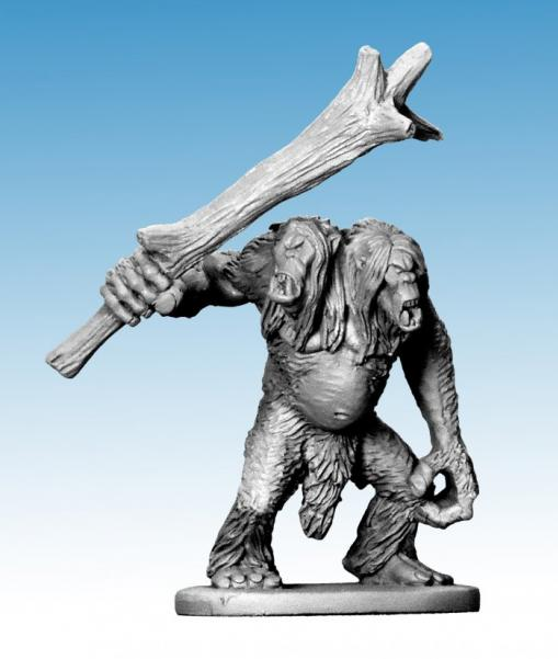Frostgrave: Two Headed Snow Troll