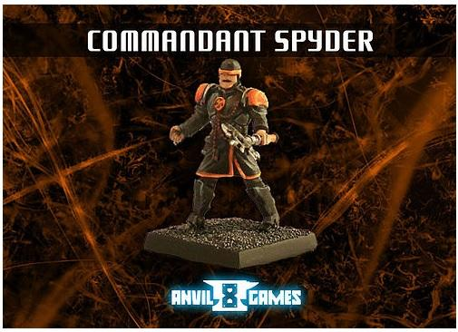 Aetherium: Axiom - Commandant Spyder (Avatar)