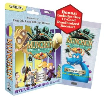 Munchkin CCG: Cleric and Thief Starter Set