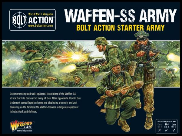 Bolt Action: (German) Waffen SS Starter Army