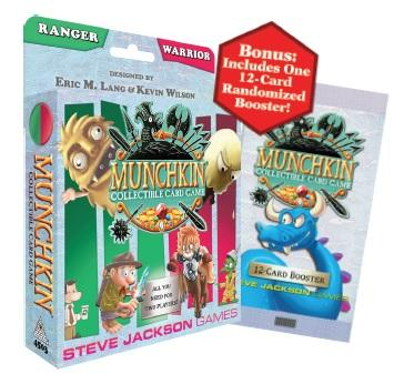Munchkin CCG: Ranger and Warrior Starter Set