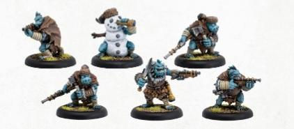 Hordes: (Trollbloods) Pyg Lookouts - Trollblood Unit (6) (resin/metal)