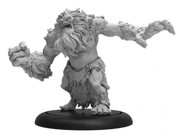 Hordes: (Trollbloods) Winter Troll – Trollblood Light Warbeast (1) (resculpt) (resin/metal)