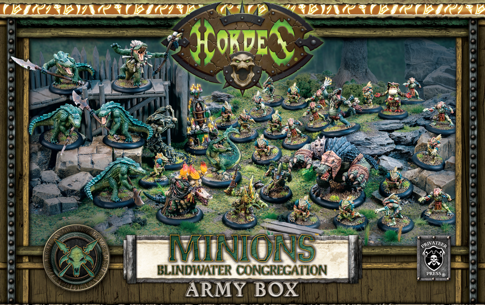 (Minions) Blindwater Army Box (resin/metal/plastic)
