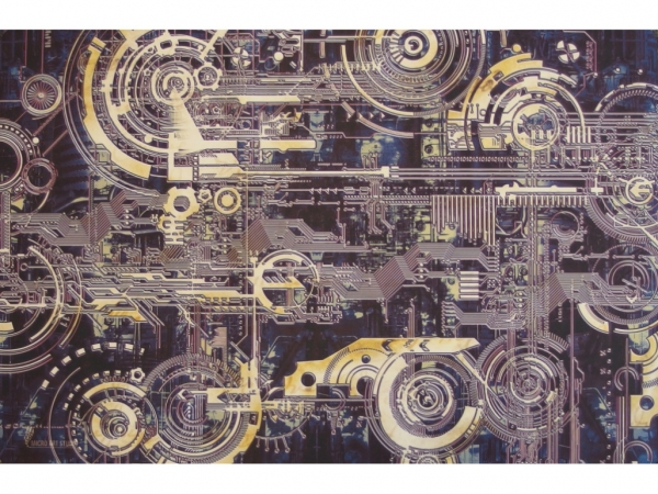 Card Game Mat: Cyber (60x40cm)