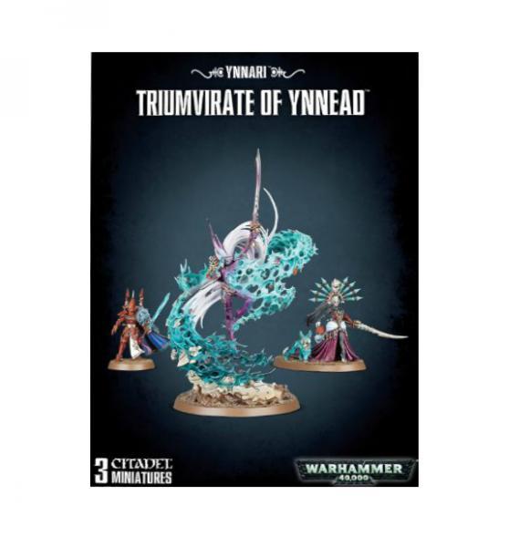 Warhammer 40K: Ynnari Triumvirate of Ynnead