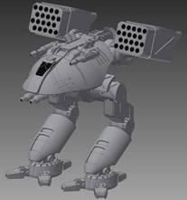 BattleTech Miniatures: Catapult II CPLT-L7 Mech - 65 Tons - TRO 3145 Capellan Confederation