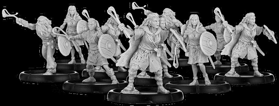 Darklands: Men of Ármhach, Maiobhanagh Unit (10x Warriors)