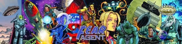 Savage Worlds RPG: Fear Agent GM Screen with Adventure