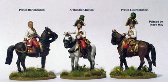 28mm Napoleonic: (Austrian) Early Mounted High Command (3)